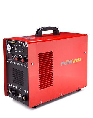 Primeweld Plasma Cutter Ct520d 50 A 200 A Tig Arc Mma Welder 110220v New
