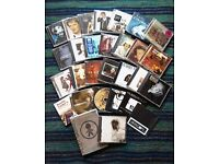 MALE SOLO ARTIST CD music collection of 29 CDs and a DVD