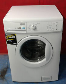 I504 white zanussi 8kg 1400spin washing machine comes with warranty can be delivered or collected