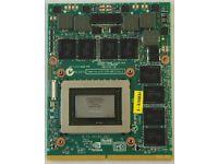 Alienware Dell - 2 x NVIDIA GTX 580M 2GB Gaming Laptop Graphics Card - MXM 3.0