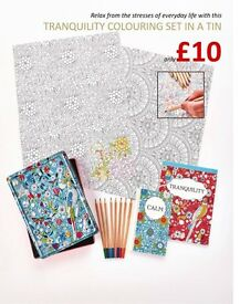 Adult Colouring Book Collection £10