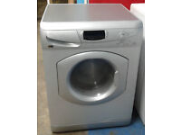 e354 silver hotpoint 5kg&5kg 1600spin washer dryer comes with warranty can be delivered or collected