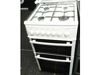*62 white beko 50cm gas cooker comes with warranty can be delivered or collected