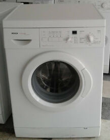 e720 white bosch 6kg 1200spin washing machine comes with warranty can be delivered or collected