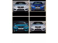 PRIVATE NUMBER PLATES BMW M M5/M6/M2