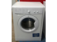 e333 white indesit 6kg&5kg 1400spin washer dryer comes with warranty can be delivered or collected