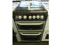 H133 silver and black cannon 50cm gas cooker comes with warranty can be delivered or collected