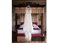 Justin Alexander Isabella Wedding Dress - Size 16