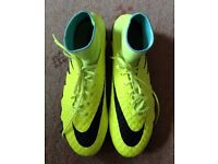 Nike football boots. Size 9. Brought as a present but too big. Never worn. £135 RRP