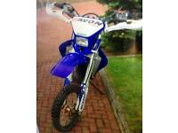 Yz 250 f enduro road legal priced to sell