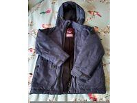 Boys NEXT Warm Fleece Lined Hooded Coat/Jacket - Age 6