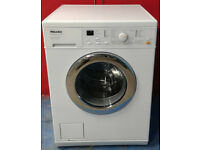 x402 white miele 6kg 1300spin washing machine comes with warranty can be delivered or collected