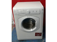 b560 white hotpoint 7kg 1200spin washer dryer comes with warranty can be delivered or collected