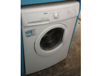 E357 white zanussi 7kg 1600spin washing machine comes with warranty can be delivered or collected