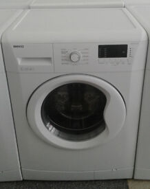 c640 white beko 7kg 1500spin A++ washing machine comes with warranty can be delivered or collected