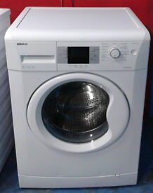n404 white beko 8kg 1200spin A+ rated washing machine comes with warranty can be delivered