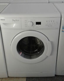 *c682 white beko 7kg 1300spin A+A washing machine comes with warranty can be delivered or collected