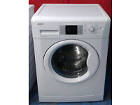 x404 white beko 8kg 1200spin A+ rated washing machine comes with warranty can be delivered