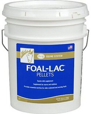 Foal Lac Pellets 50 Lbs 2 X 25 Lb. Mares Milk Replacer For Orphaned Foals