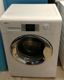 R043 white beko 7kg 1200spin A+ rated washing machine comes with warranty can be delivered