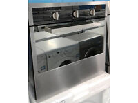 n170 stainless steel candy single electric oven comes with warranty can be delivered or collected
