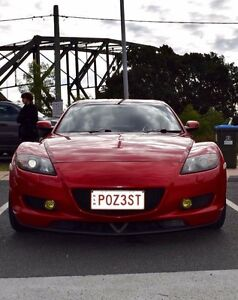 Red Mazda RX8 Birrong Bankstown Area Preview