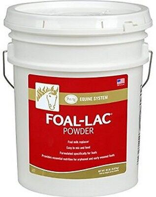 Foal-lac Powder 2 X 20 Lb. Fresh Stock Mares Milk Replacer For Orphaned Foals