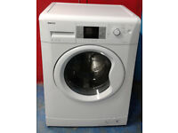 x330 white beko 8kg 1200spin A+ rated washing machine comes with warranty can be delivered