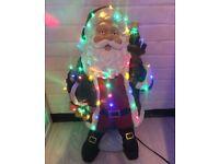 LED Santa Christmas Decoration