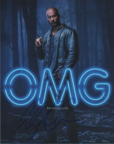 Ricky Whittle American Gods Autographed Signed 8x10 Photo COA #A6