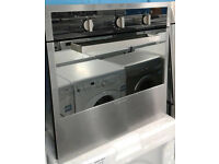 p170 stainless steel candy single electric oven comes with warranty can be delivered or collected
