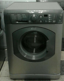 o446 graphite hotpoint 7kg 1400spin washing machine comes with warranty can be delivered