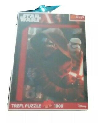 Disney Star Wars 1000 Piece Jigsaw Puzzle new sealed kylo ren Rey