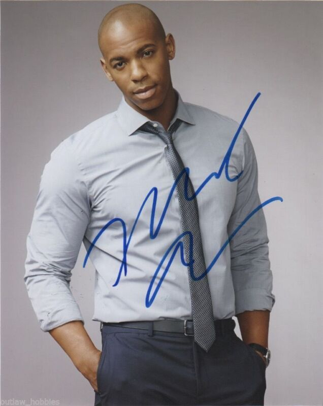 Mehcad Brooks Supergirl Autographed Signed 8x10 Photo COA
