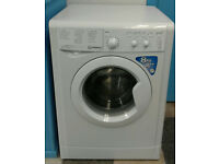 a681 white indesit 8kg 1400spin A++ rated washing machine comes with warranty can be delivered
