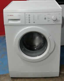 c528 white bosch 7kg 1200spin washing machine comes with warranty can be delivered or collected