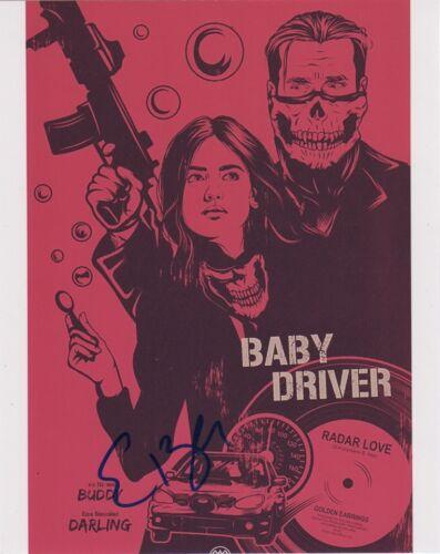 Eiza Gonzalez Baby Driver Autographed Signed 8x10 Photo COA #J9