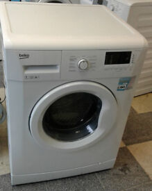 e631 white beko 7kg 1300spin A++ rated washing machine comes with warranty can be delivered