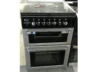 w494 silver flavel 60cm gas cooker comes with warranty can be delivered or collected