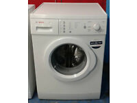 c423 white bosch 7kg 1200spin washing machine comes with warranty can be delivered or collected