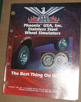 Phoenix USA Inc Stainless Wheel Simulator Catalog USA 1995