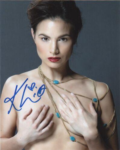 Katrina Law Sexy Autographed Signed 8x10 Photo COA #J2
