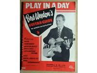 Bert Weedon's 'Play In A Day' 1957 edition