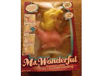 Ms Wonderful talking doll