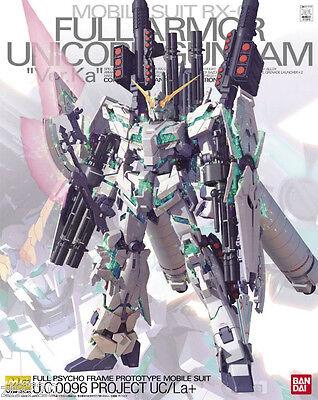 NEW Bandai Gundam 1/100 MG RX-0 Full Armor Unicorn Gundam BAN172818 NIB