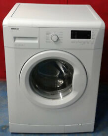 m306 white beko 7kg 1300spin A++ rated washing machine comes with warranty can be delivered