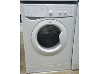 l272 white indesit 6kg 1000spin washing machine comes with warranty can be delivered or collected