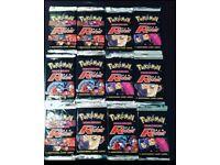 Pokemon team rocket booster packs