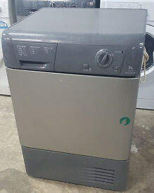 l335 graphite hotpoint 7kg condenser dryer comes with warranty can be delivered or collected