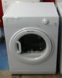 m569 white hotpoint 6.5kg vented dryer comes with warranty can be delivered or collected